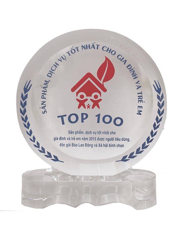 Top 100 sản phẩm tốt cho gia đình & trẻ em 2015