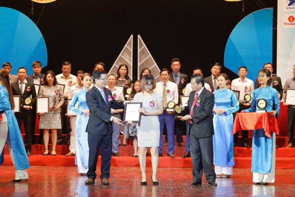 Abipha đạt Top 50 nhãn hiệu nổi tiếng Việt Nam 2017