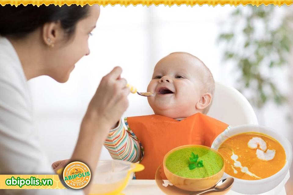 Tư vấn dinh dưỡng khi trẻ bị ho