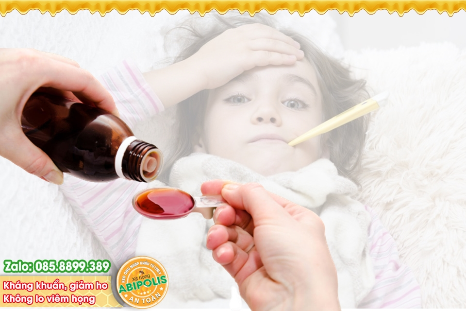 Thận trọng khi sử dụng thuốc ho, thuốc cảm cho trẻ