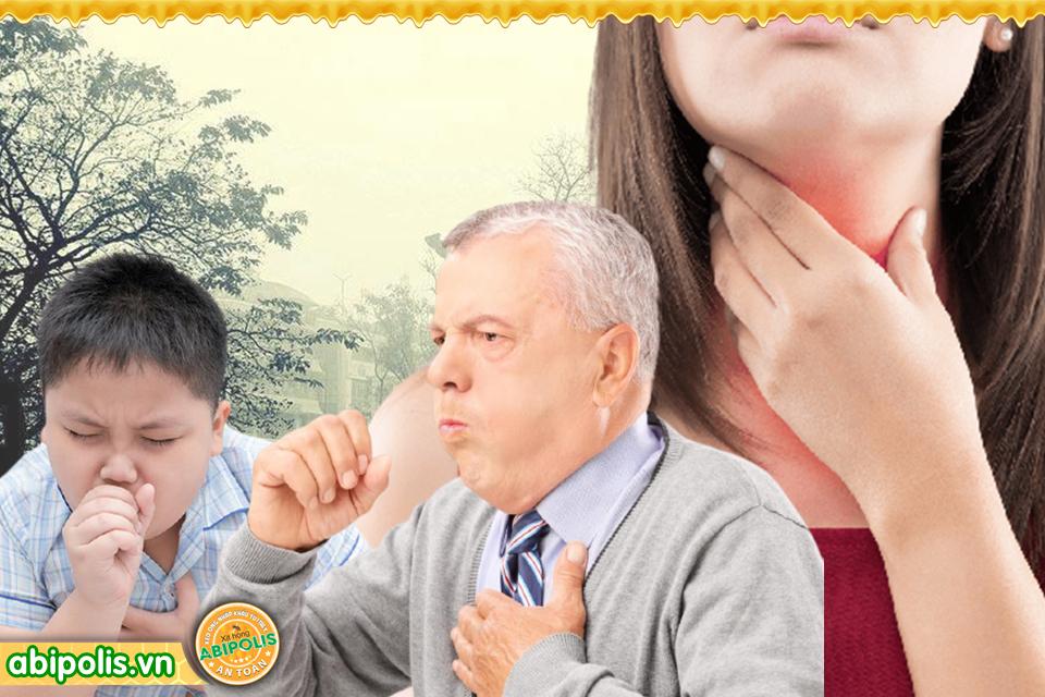 Giảm ho nhanh, lành viêm họng không cần kháng sinh
