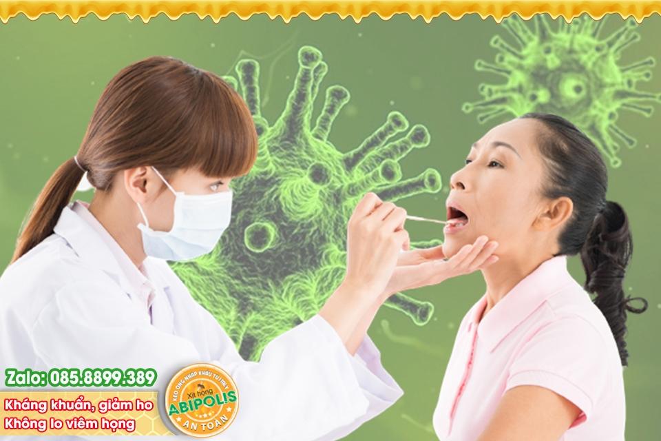 Nhận biết viêm họng do vi khuẩn hay do virus giúp điều trị hiệu quả