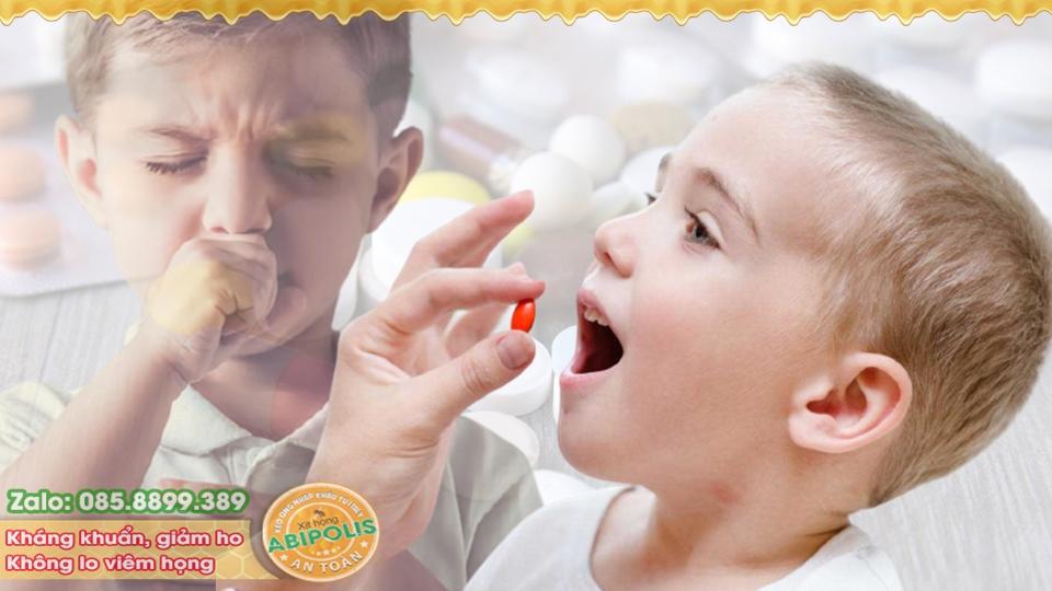 Cách trị ho cho trẻ nhanh, đơn giản, an toàn, không cần kháng sinh