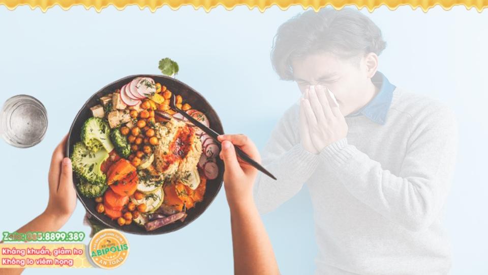 Mẹo chữa viêm nhiễm đường hô hấp bằng món ăn